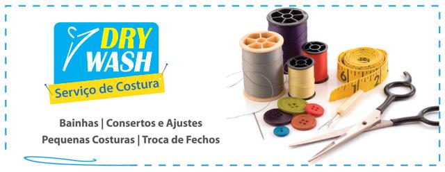 Serviços de Costura - Lavanderia Dry Wash