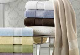 lavagem de roupas de cama, mesa e banho