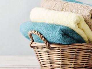 lavanderia de toalhas