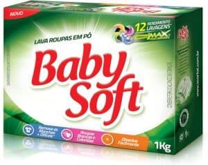 Sabão em pó Baby Soft