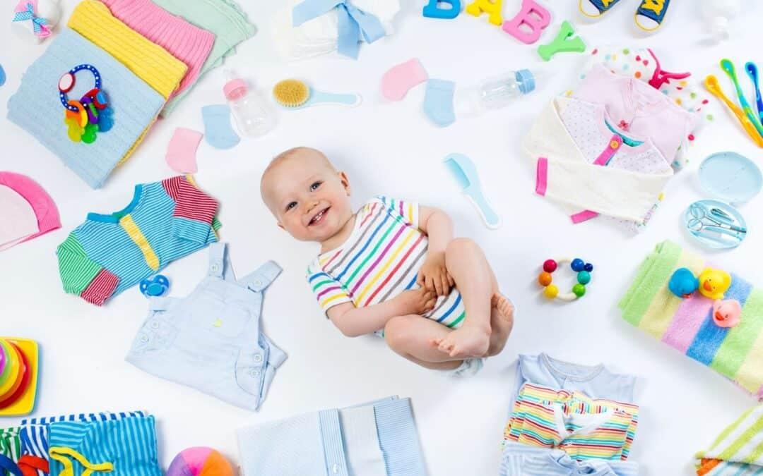 Como lavar roupas de bebe amareladas