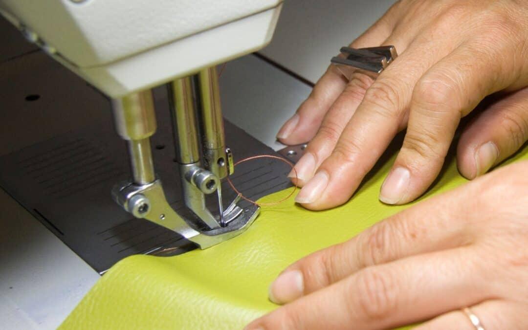 Como costurar couro?