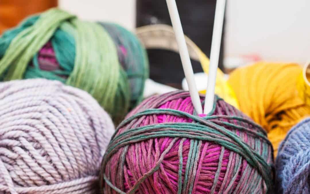 Como costurar tricô?