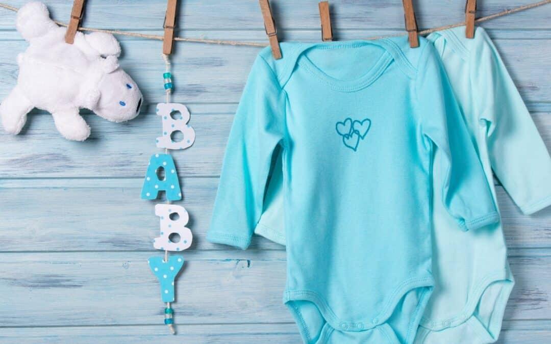 Cuidados ao lavar roupa de bebe
