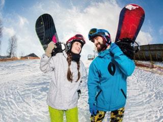 lavanderia roupas de esquiar
